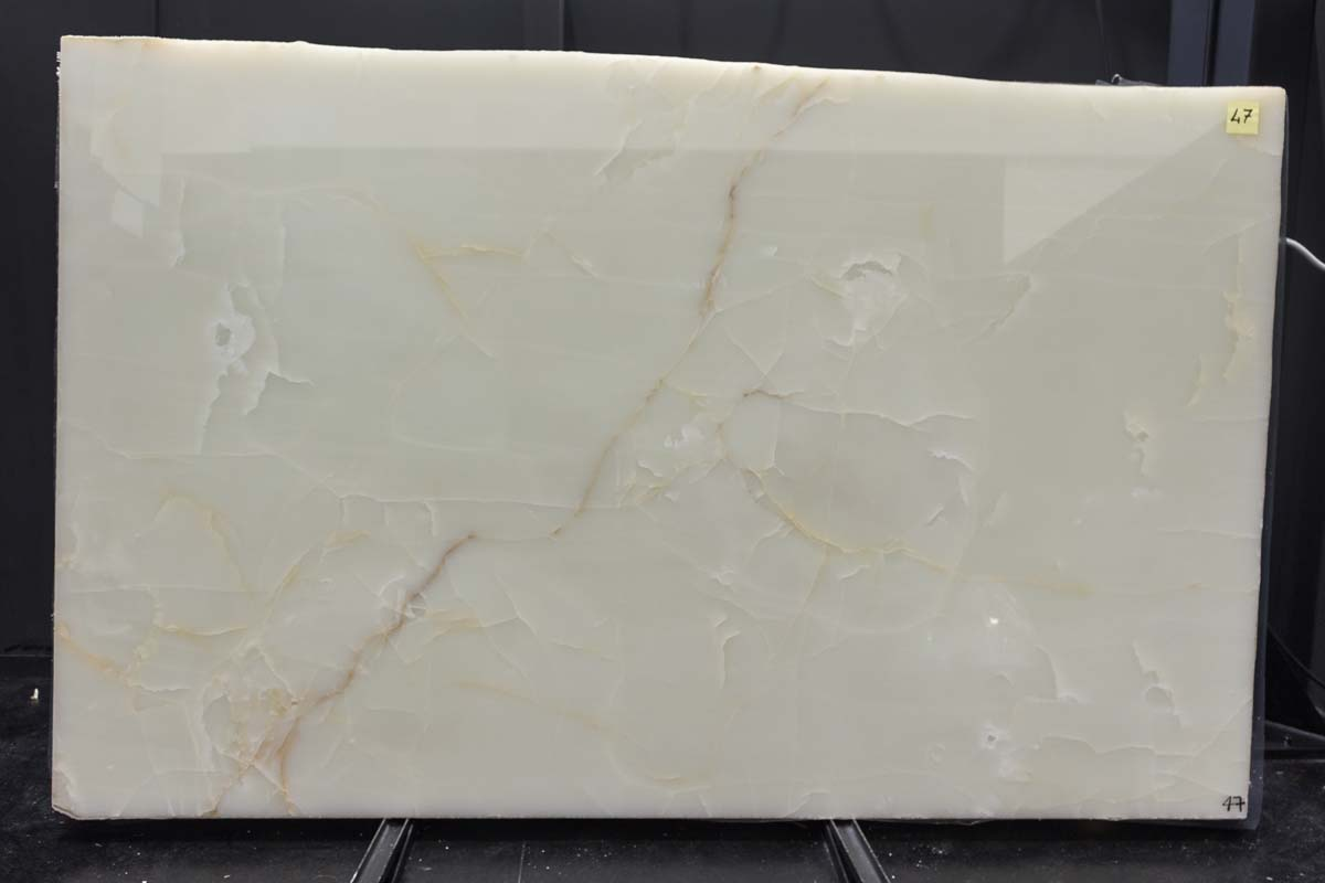 White Onyx Orange vein